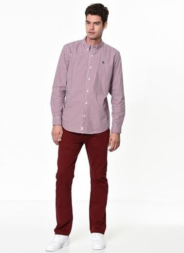 Kareli Uzun Kollu Gömlek-Timberland